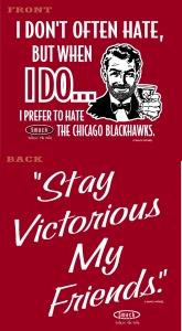 Chicago Blackhawks.
