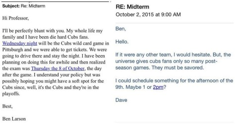 Cubs Student
